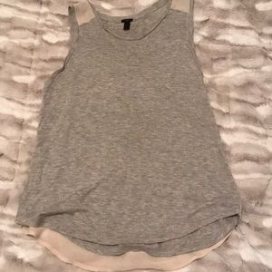 Jcrew tank with see through back